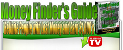 Thumbnail The Money Finder Guide PLR